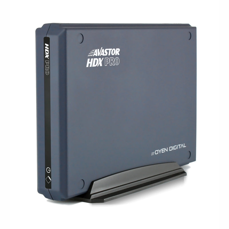 AVASTOR HDX PRO | 7200 RPM External Hard Drive with Lockbox [USB-C] Front