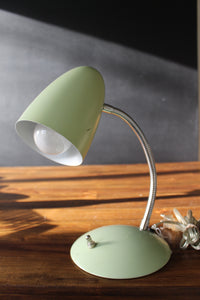 Vintage Mint Desk Lamp