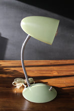 Load image into Gallery viewer, Vintage Mint Desk Lamp