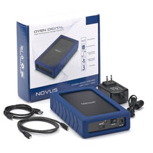 Load image into Gallery viewer, OYEN DIGITAL Novus | External 7200 RPM Desktop Hard Drive [USB-C] with Packaging and Cables
