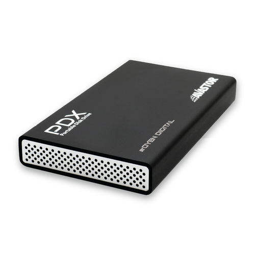 PDX-800 Portable External Hard Disc Drive [USB 3.1 & FW800]