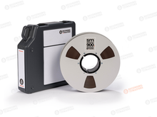 "Load image into Gallery viewer, Recording The Masters SM900 2"" x 2500' Audio Tape on a 10.5"" Metal Reel with NAB Hub in Tapecare Box"