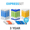 3 Year Reverse Osmosis System Replacement Filter Set – 24 Filters with 50 GPD RO Membrane - dev-express-water