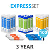 3 Year Reverse Osmosis System Replacement Filter Set – 24 Filters with 100 GPD RO Membrane - dev-express-water