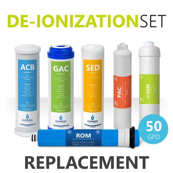 De-Ionization Filter Replacement Set - dev-express-water