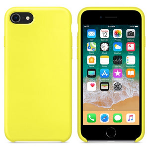 Original official silicone case for Apple iPhone with box