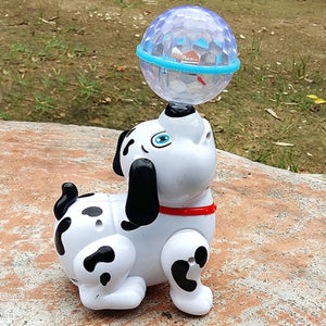 Electric Toy Dog Pet For Kids - Funny Electronic Musical Singing Walking Toy
