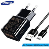 Samsung S8 S9 plus note9 Original Fast Charger 9V1.67A  Quick Adapter &  USB Type C Cable