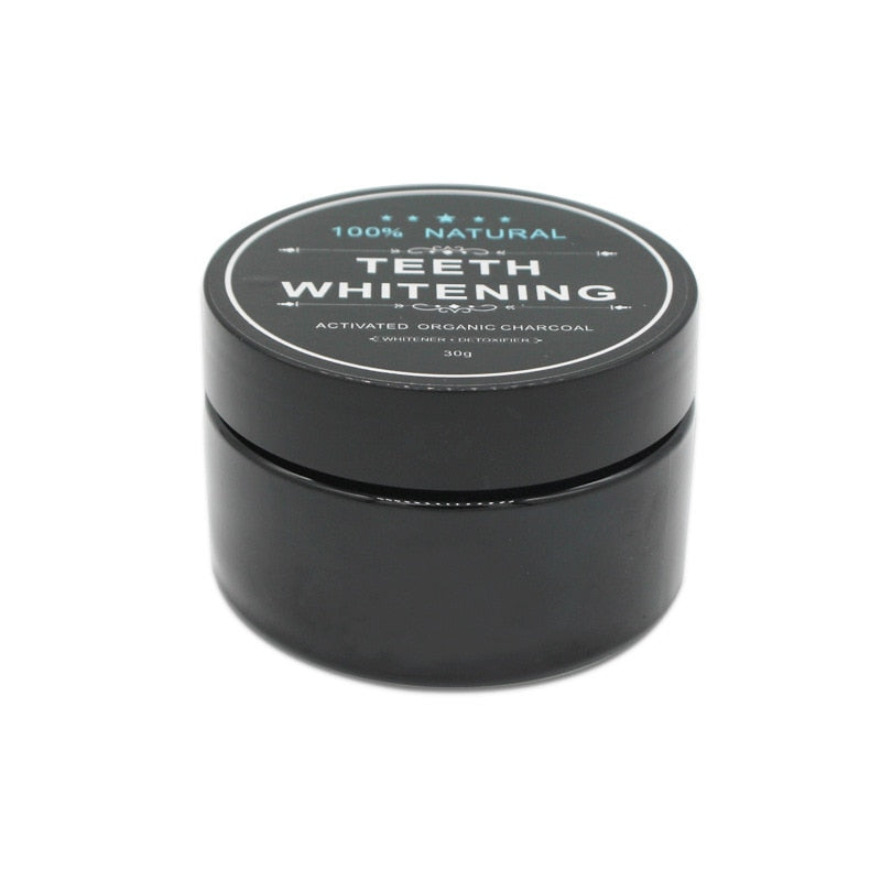 Dental Natural Organic Black Activated Charcoal Teeth Whitening Powder