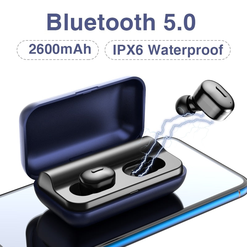 Bluetooth Earphone Headset 3D Stereo Wireless