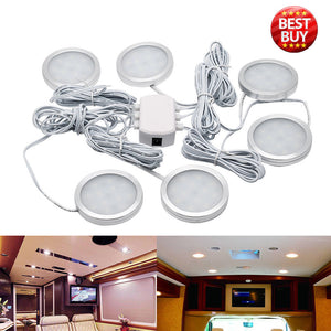 Cabin Ceiling Lamp Caravan Camper Car RV Cool White Light 6500K