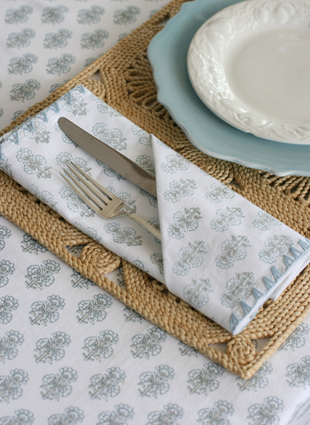 Talelayo Napkins - set of 4 in Sparrow