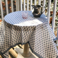 Sequoia Tablecloth in Stella Blue
