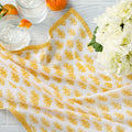 "August Table ""Talelayo"" Napkins - set of 4 in Tanager Yellow"