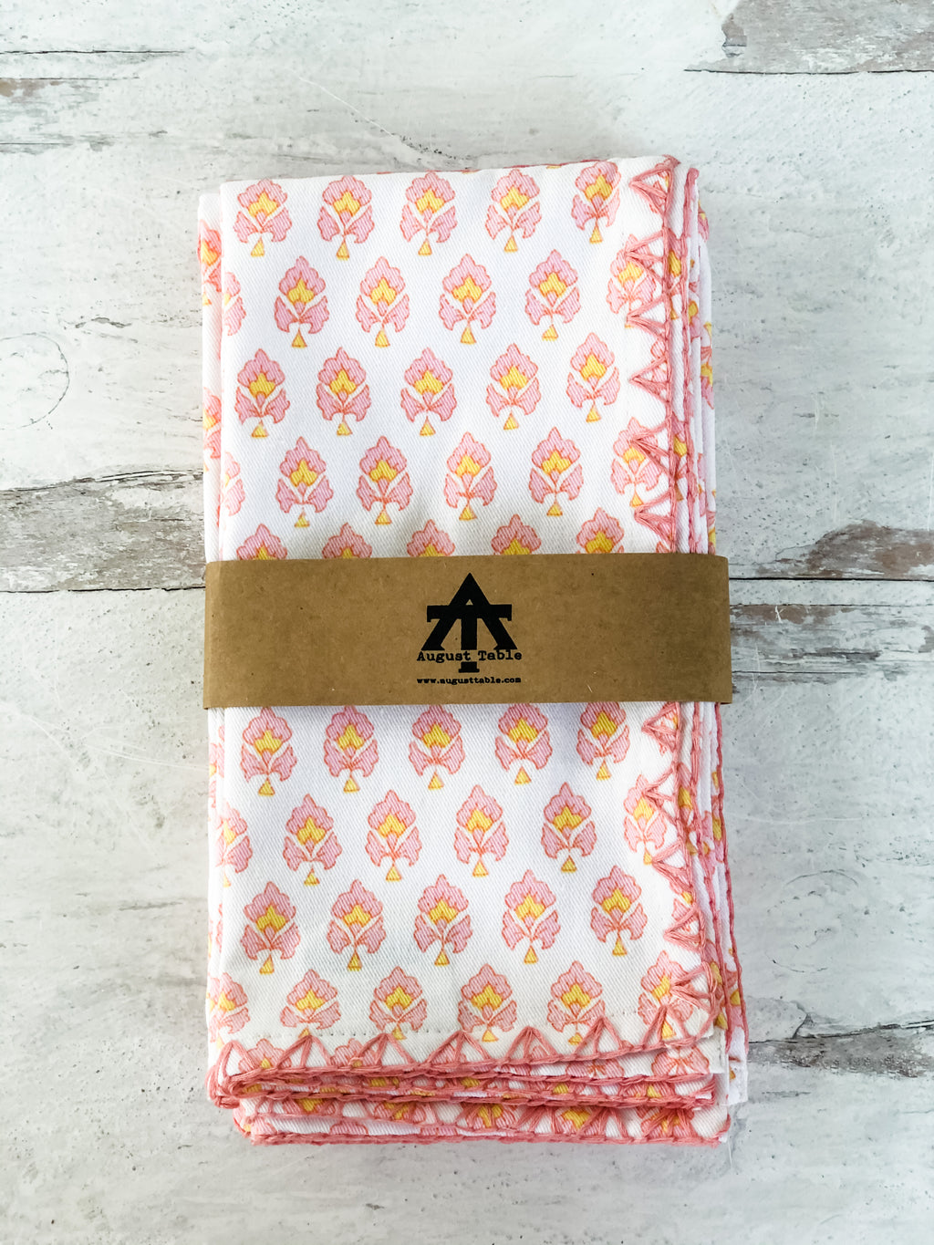 Trillium Napkins - set of 4 in Accomack