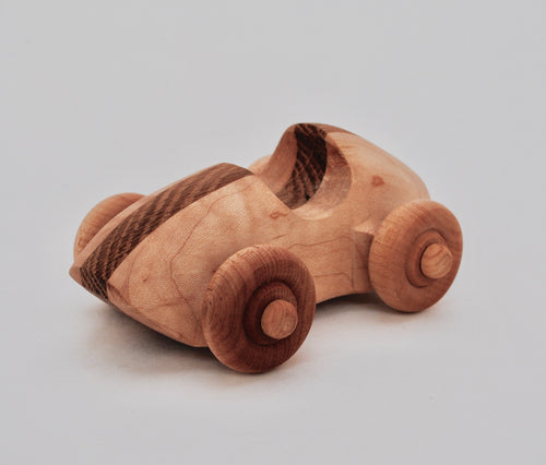 Oak and maple race-car