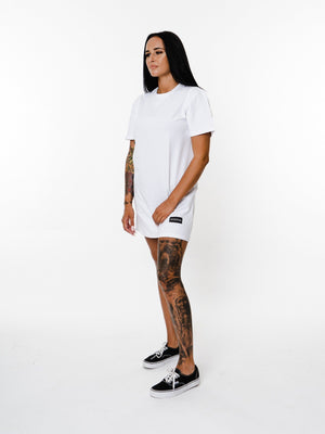 BASIX COLLECTION TEE (WHITE) MANASSE COLLECTION Imperial Clothing