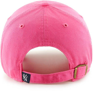 NEW YORK YANKEES MAGENTA CLEAN UP STRAPBACK 47 BRAND Imperial Clothing