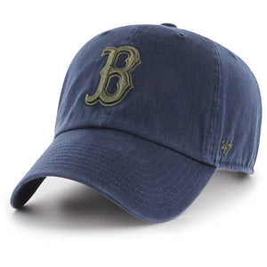 BOSTON RED SOX NAVY/MOSS CLEAN UP STRAPBACK 47 BRAND Imperial Clothing