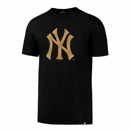 NY YANKEES METALLIC HOOK SPLITTER TEE 47 BRAND Imperial Clothing