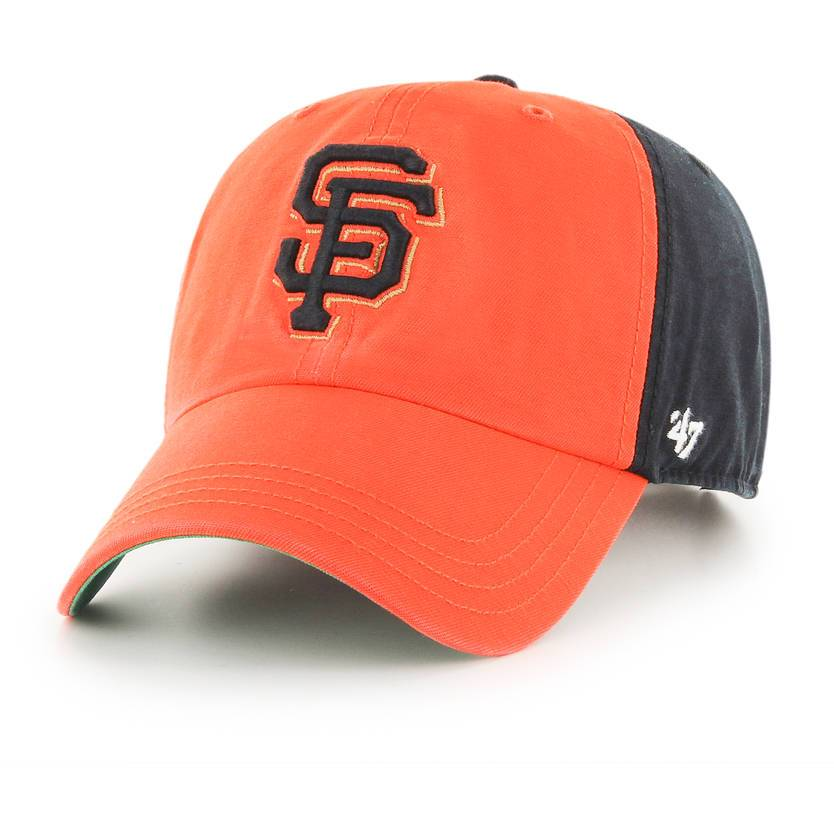SAN FRANCISCO GIANTS ORANGE/BLACK FLAGSTAFF CLEAN UP 47 BRAND Imperial Clothing