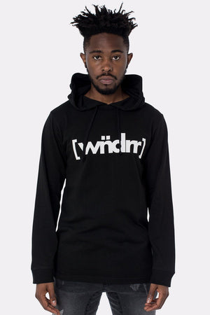 CAGED ACCENT L/S HOODED TEE WNDRR Imperial Clothing