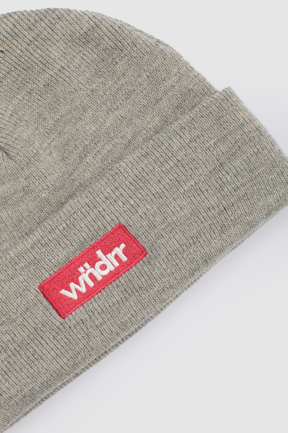 REACT BEANIE - GREY WNDRR Imperial Clothing