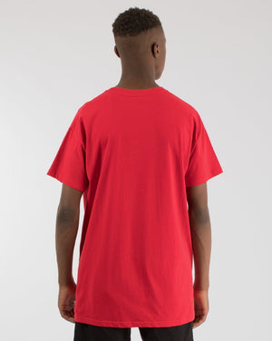 OVERPASS CUSTOM FIT TEE - RED WNDRR Imperial Clothing