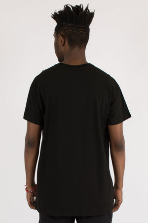 SIDE-LINE CUSTOM FIT TEE - BLACK WNDRR Imperial Clothing