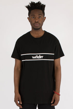 DISTRICT CUSTOM FIT TEE - BLACK WNDRR Imperial Clothing