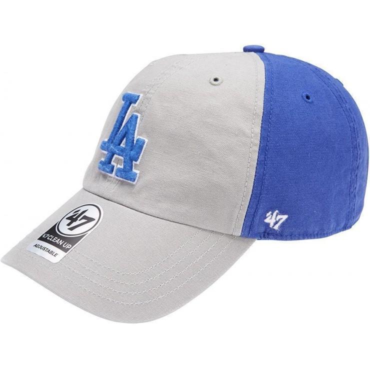 LA DODGERS GREY/ROYAL FLAGSTAFF CLEAN UP 47 BRAND Imperial Clothing