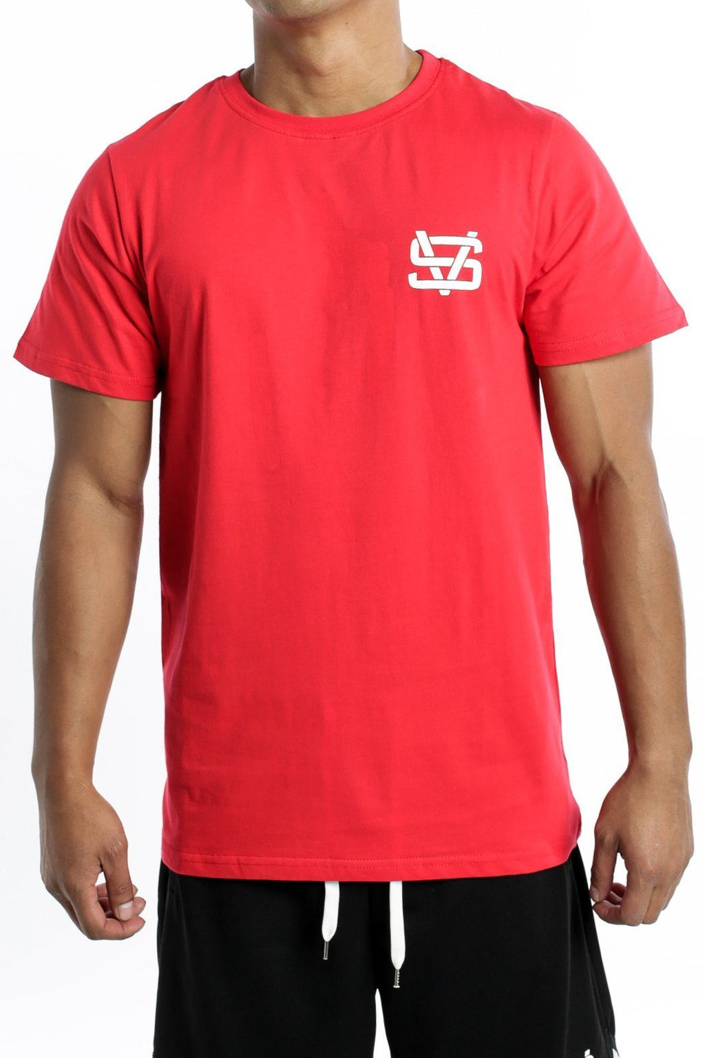 PHASE BOXED TEE RED STEEZE VILLANS Imperial Clothing