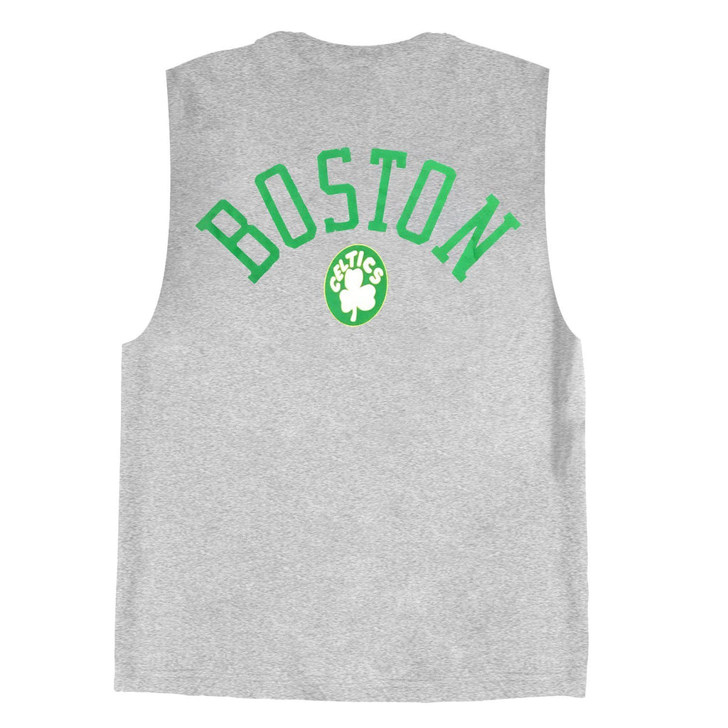 RETRO REPEAT LOGO MUSCLE BOSTON CELTICS (GREY) Mitchell & Ness Imperial Clothing