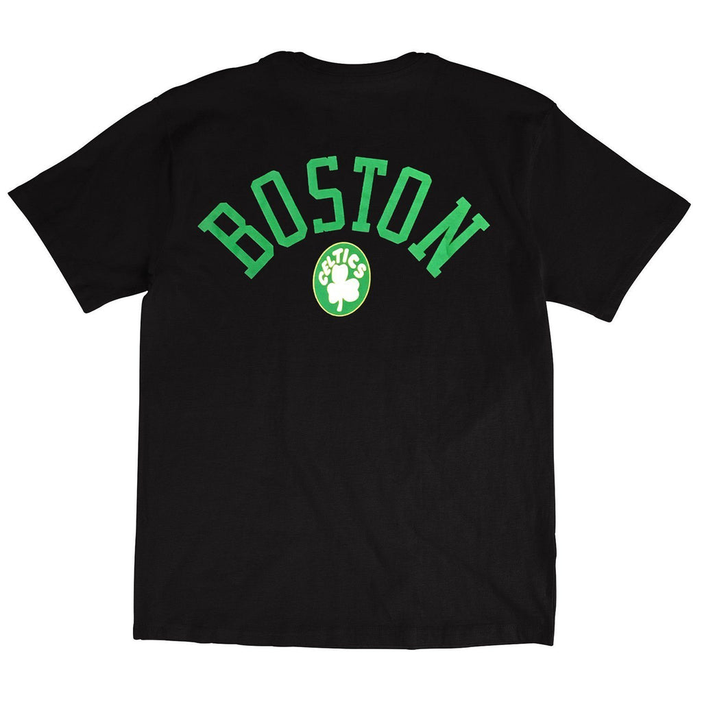 RETRO REPEAT LOGO TEE BOSTON CELTICS (BLACK) Mitchell & Ness Imperial Clothing
