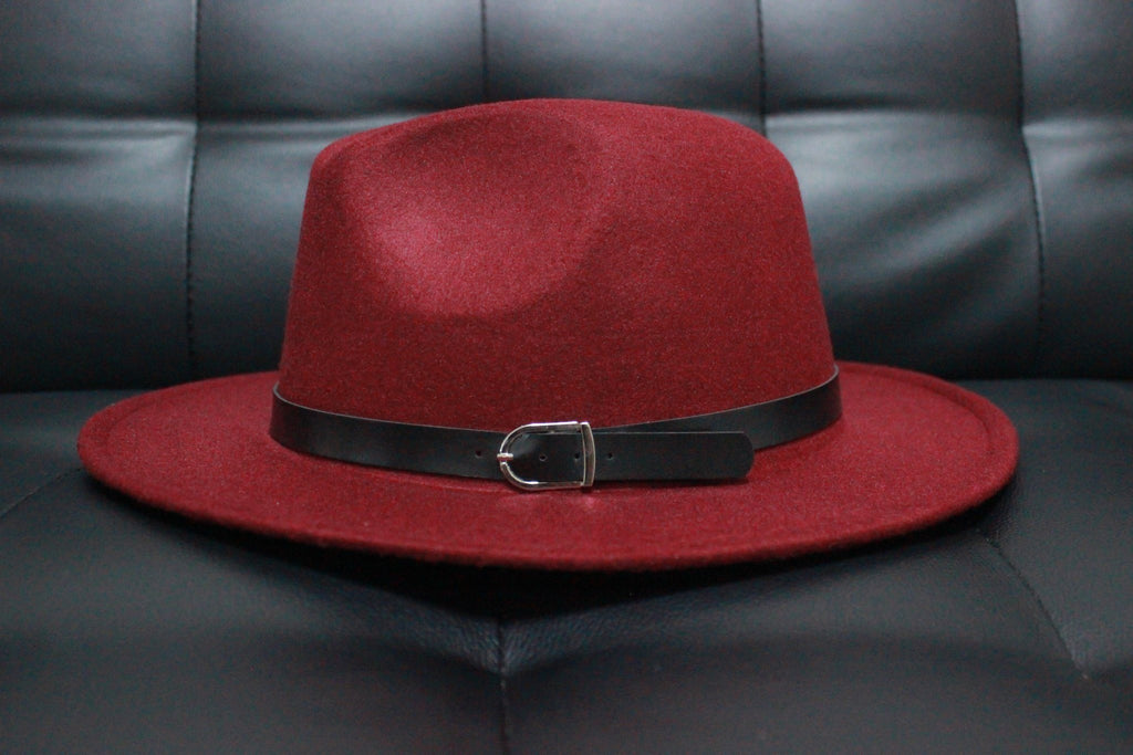 FEDORA - RED WINE STEEZE VILLANS Imperial Clothing