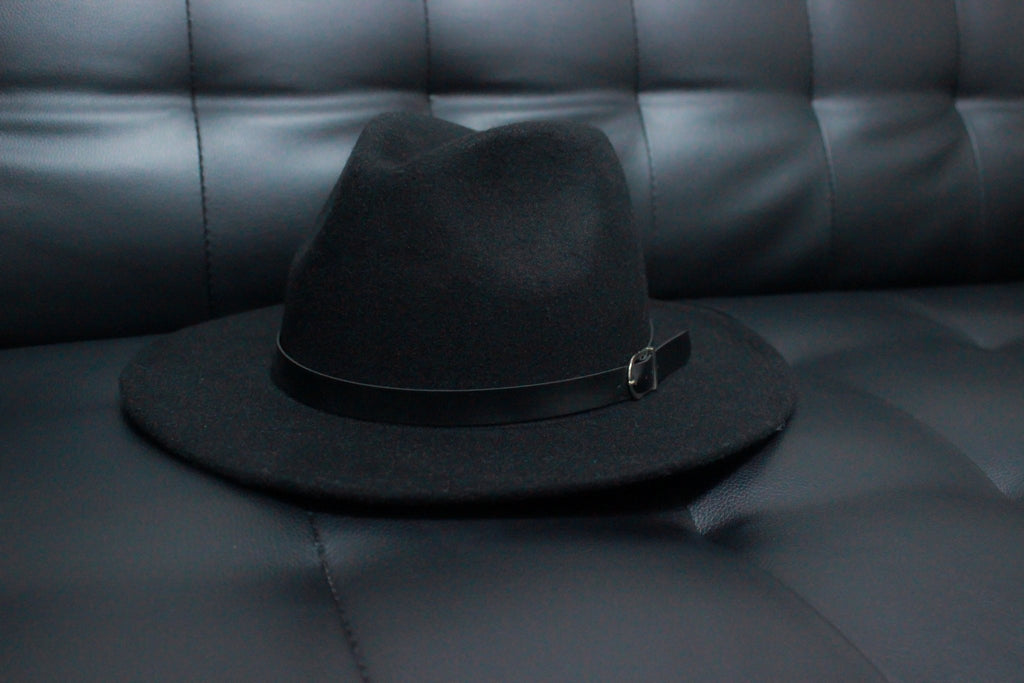 FEDORA - BLACK STEEZE VILLANS Imperial Clothing