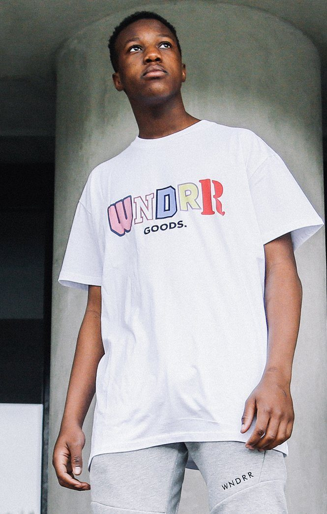 GOODS CUSTOM FIT TEE WHITE WNDRR Imperial Clothing