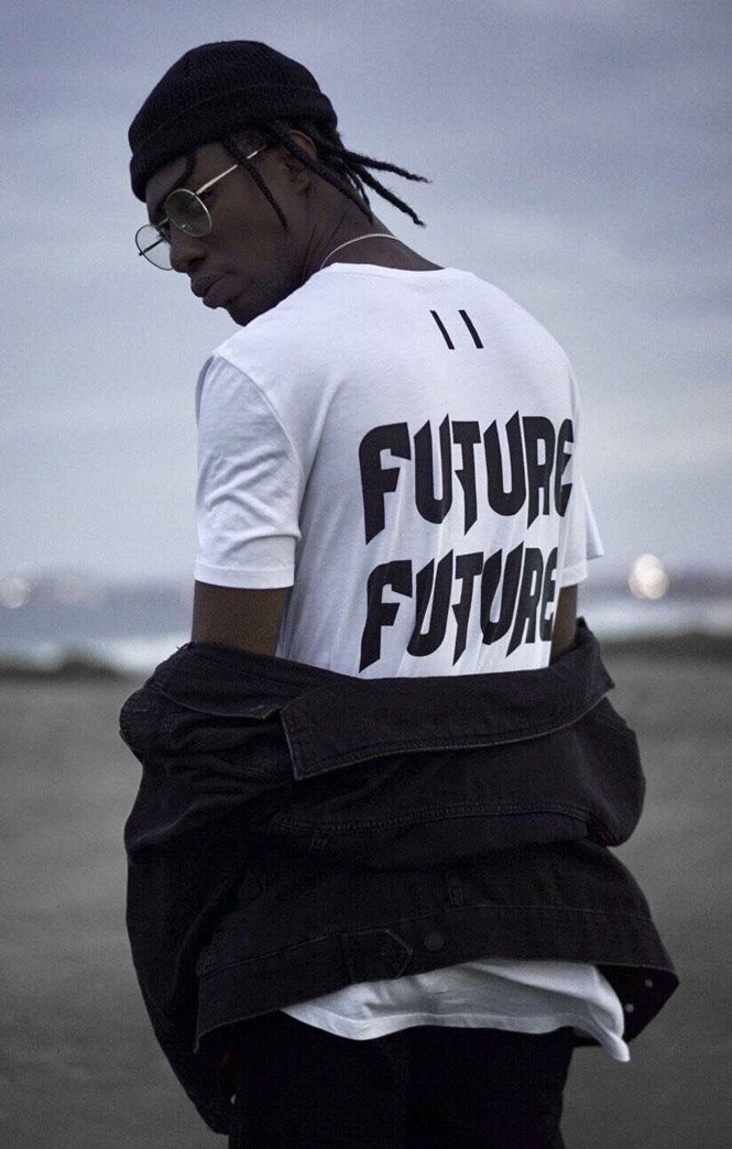 WHITE THREE PEAT TEE FUTURE YOUTH Imperial Clothing
