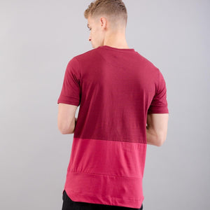 KING APPAREL LANGDON TEE OXBLOOD King Apparel Imperial Clothing