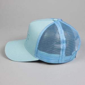 KING APPAREL LONDON MESH TRUCKER FOG BLUE King Apparel Imperial Clothing