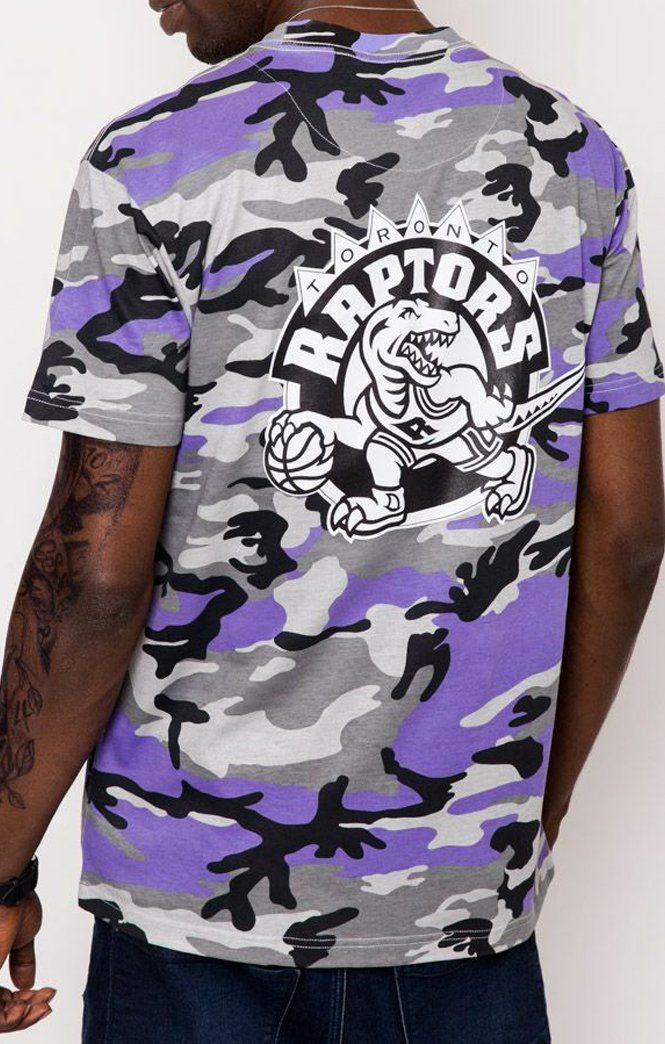 CAMO TEE TORONTO RAPTORS (PURPLE) Mitchell & Ness Imperial Clothing