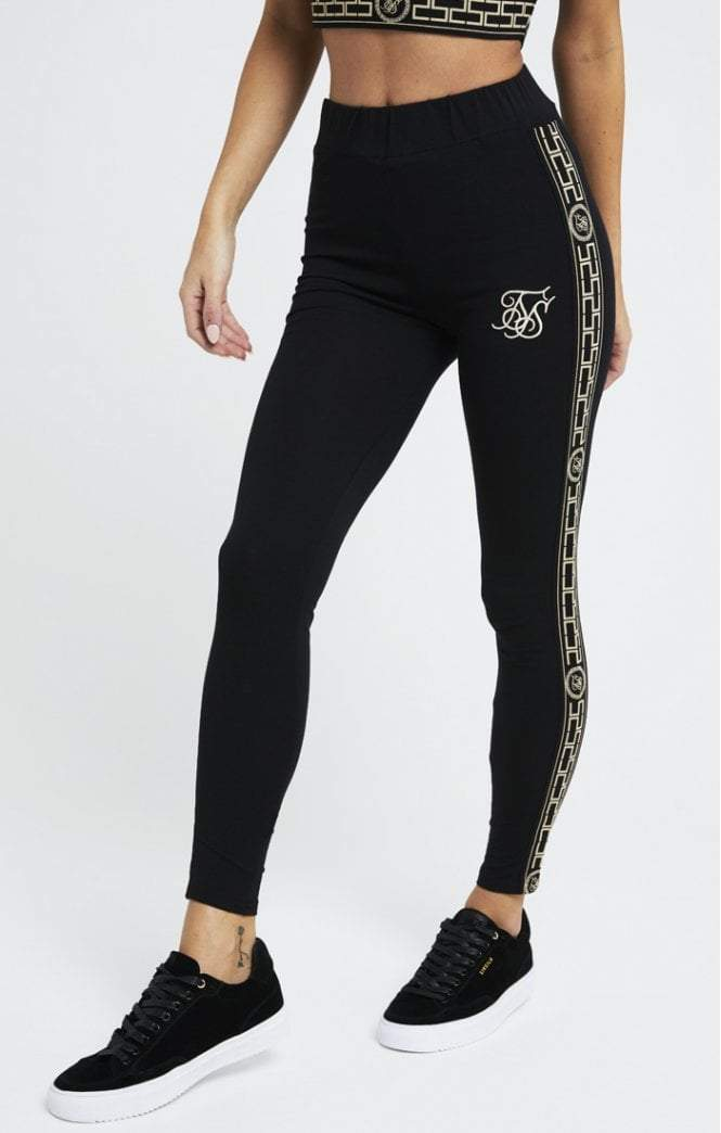 Athena Leggings – Black SikSilk Imperial Clothing