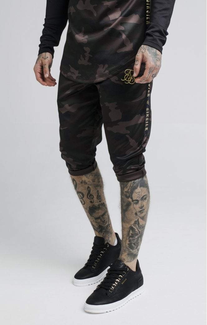 Camo Fade Performance Shorts – Camo SikSilk Imperial Clothing