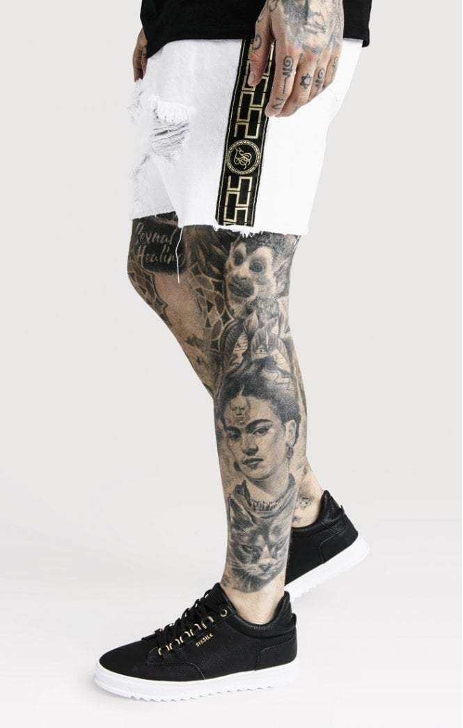 Cartel Shorts - White SikSilk Imperial Clothing