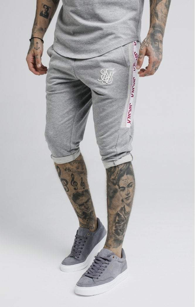 Performance Shorts – Grey Marl SikSilk Imperial Clothing