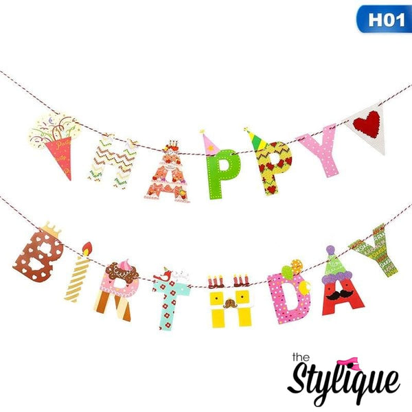 Ice Cream Birthday Banner - Thestylique.com