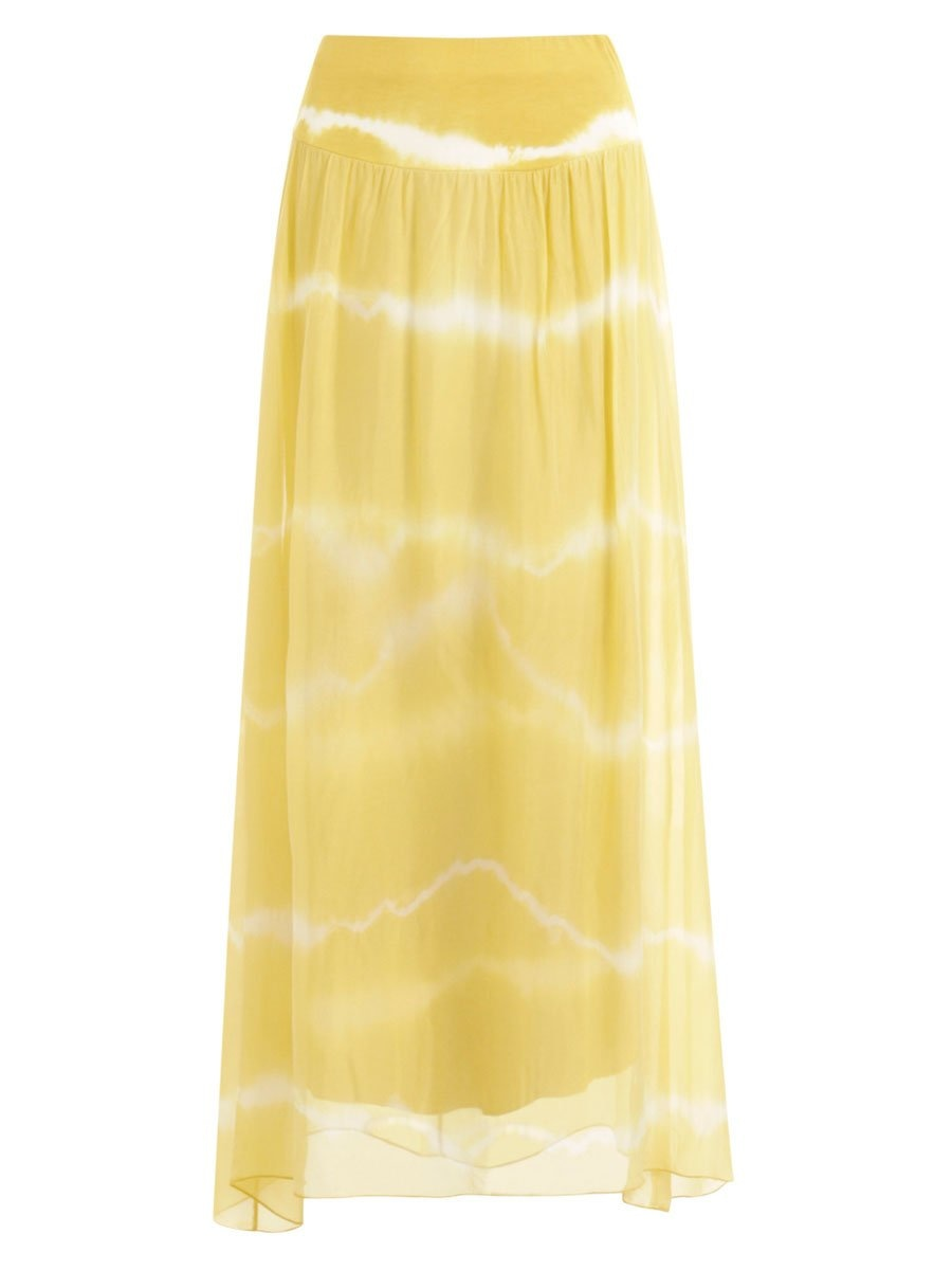 Coster Copenhagenin Long skirt värissä Yellow.