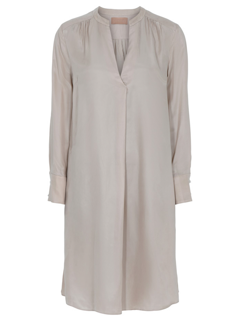 Gustavin Costa shirt dress värissä Beige.
