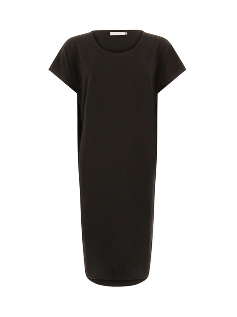 Coster Copenhagenin T-shirt dress värissä Black.