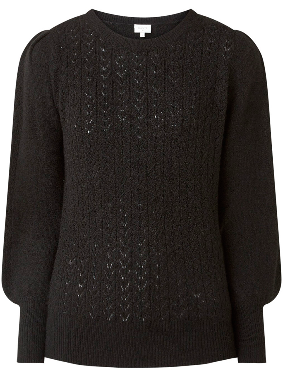 Danten Kinsley sweater värissä Black.